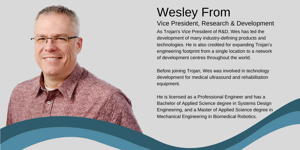 Today, let's meet Wesley From from @TrojanTech on #Whoiscleantech Wednesday. #ONCleantech #cleantech #envrionment #wastewater #water #innovation https://t.co/6OgWCABESX