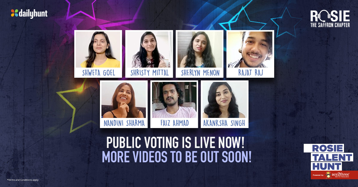 Public Voting is now Live on Dailyhunt (Link given below) First 6 Videos are out, hit a like if you think they deserve to be the next superstar. Submit your Entries NOW if you havent profile.dailyhunt.in/vivekanandober… @vivekoberoi #prernavarora @mishravishal @mandiraa_ent @RosieIsComing