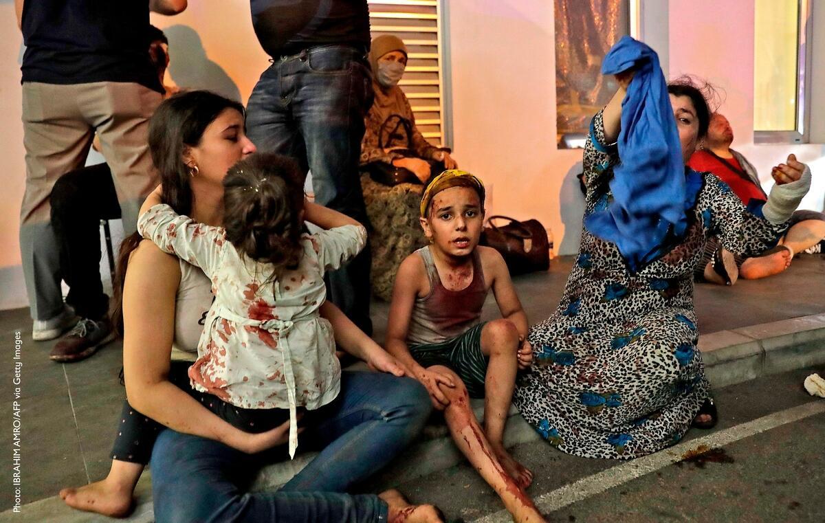 #BeirutExplosion