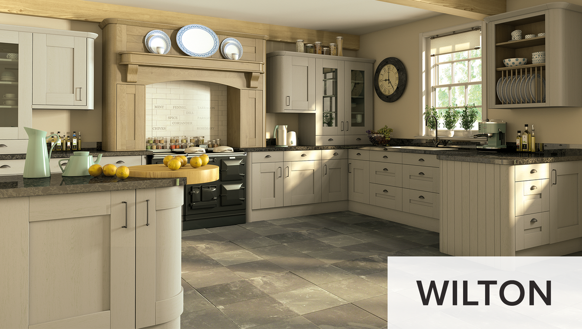 Blend a classic kitchen design with a quality finish to complete your space. You can bring rustic charm into your home with the gorgeous Wilton range. 👌  Check out the look: https://t.co/AUhhPkqnKl  #kitchendesign #traditionalkitchen https://t.co/cXLHNcokgU