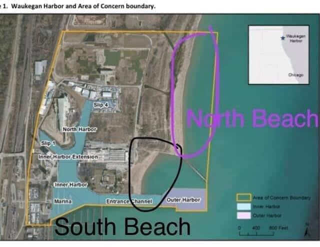 The Lake County Health Department and Community Health Center sent an advisory to the City that SOUTH BEACH tested high for bacteria levels today, August 5th, and swimming is not advised. North Beach is fine for swimming. https://t.co/qk2jmAPyMl