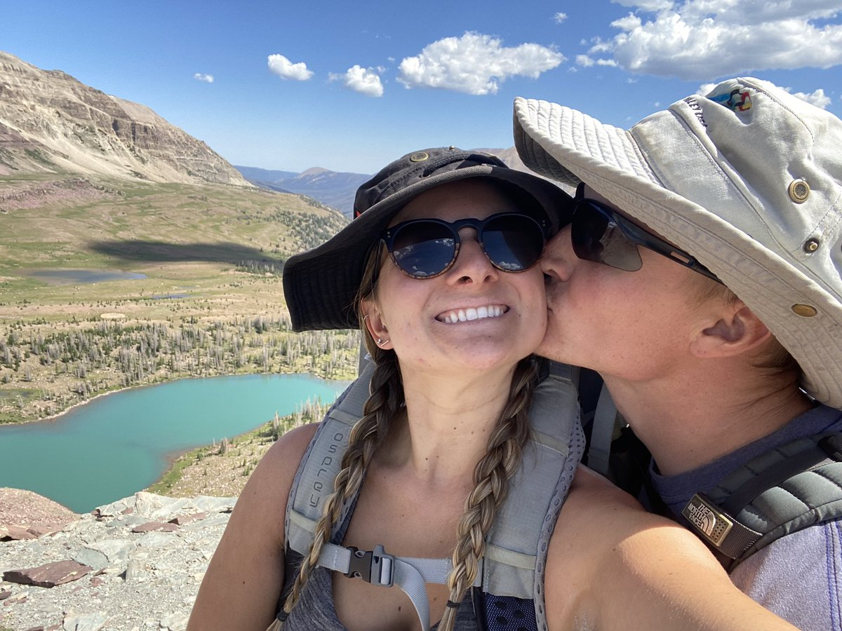 Just a look into this past week of backpacking the Uinta Highline Trail with my guy! Almost 90 miles in 5.5 days but so dang fun pic.twitter.com/a7K2VUwfZq