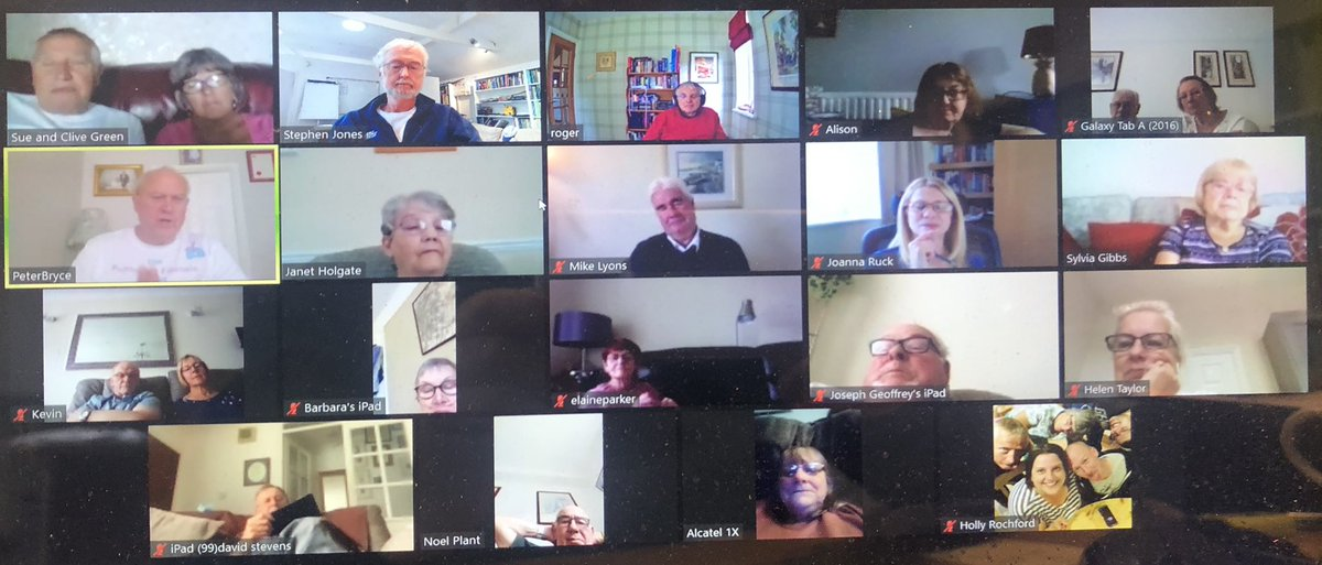 Really enjoyable meeting of the Tameside Pulmonary Fibrosis Support Group by zoom today. Great group! @ActionPFcharity @EU_IPFF @PFTrust #CurePF