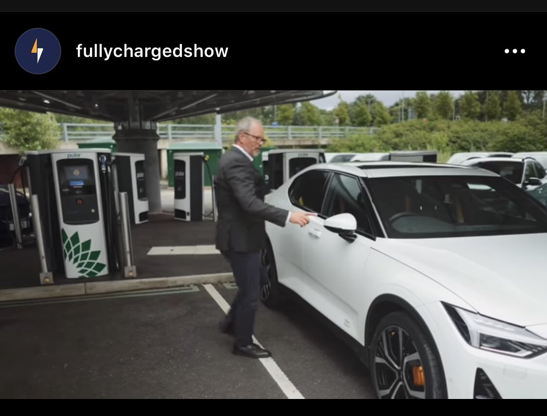 @FullyChargedShw with yet another great review. Big challenges facing Tesla soon... the quiet approach being taken here #doublespacerapidchargers #bpchargemaster #polar #ev #evcp #FullyChargedShow #polestar https://t.co/dFqA44Hkqa