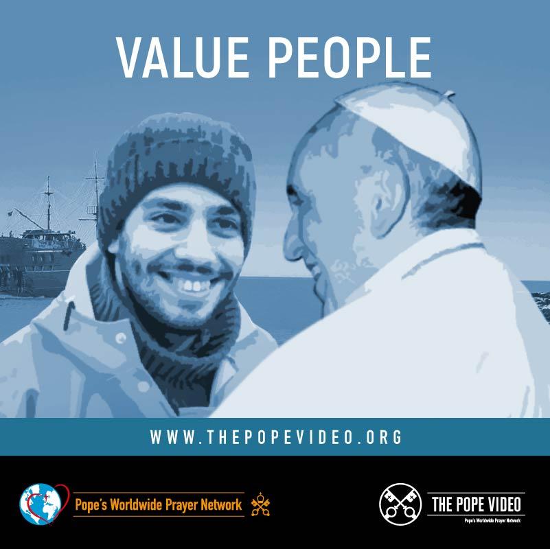 #ValuePeople #ThePopeVideo #PrayForSeafarers @Pontifex @VaticanIHD @StellaMarisOrg