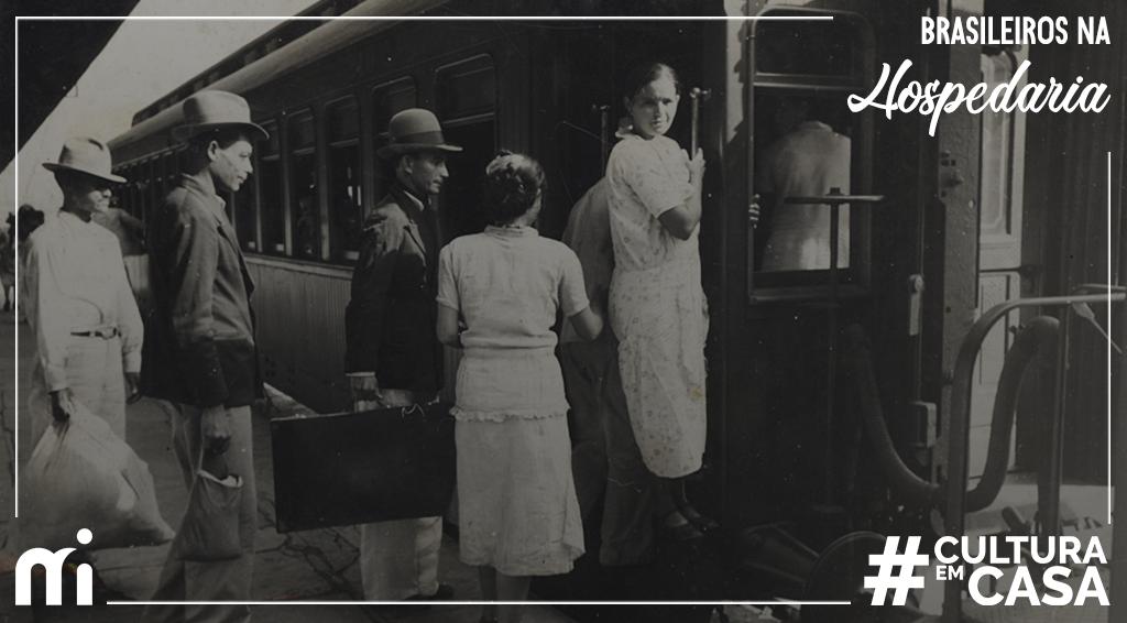 Navios e trens eram, como mostra a fotografia, formas de realizar a viagem entre o Nordeste e o Sudeste do país. No entanto, um meio de transporte tornou-se frequente em #SãoPaulo, a partir dos anos 50! 🧐 https://t.co/de1v7GOQlD