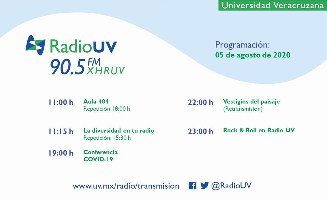 Los miércoles se disfrutan más con la #ProgramaciónRadioUV. 📻 90.5 FM 📲 App Radio UV 💻 https://t.co/WfczY0S4Qx https://t.co/G3miHLGICg