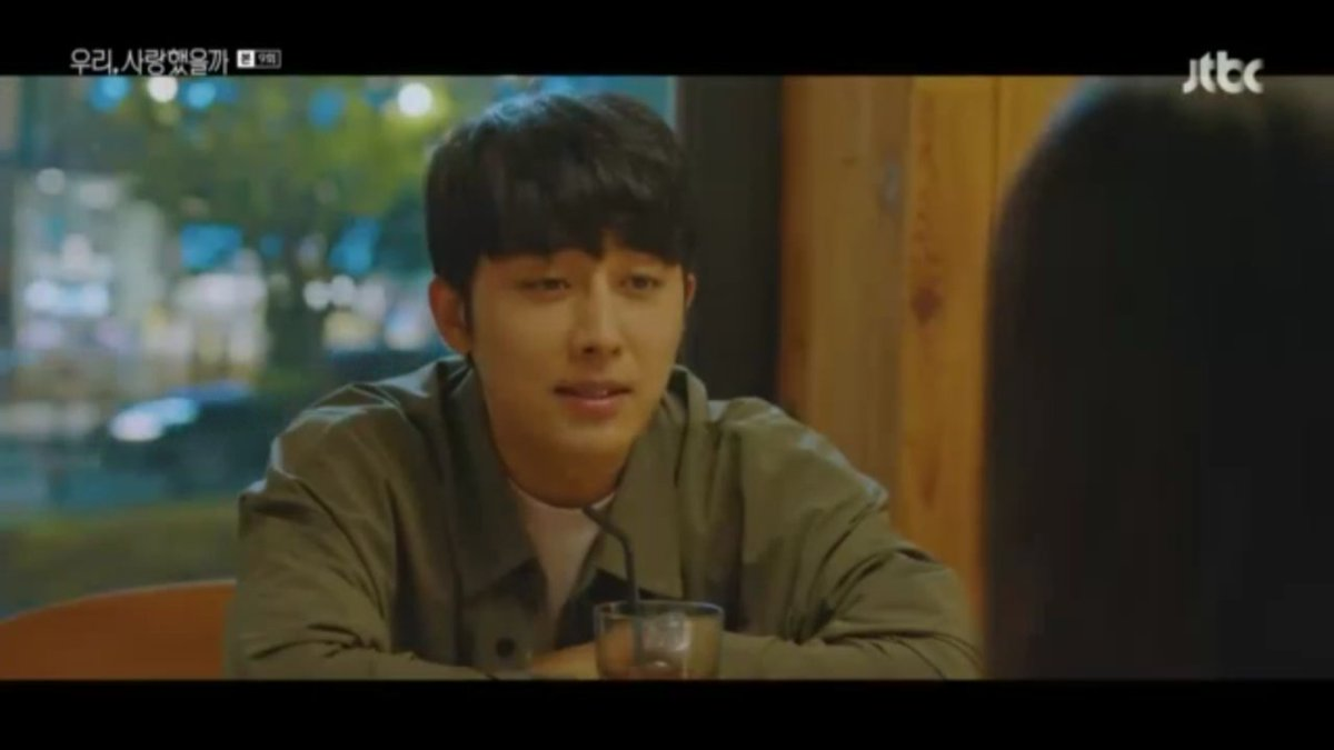 ⚠SPOILER ALERT⚠  Daeoh buy hanee food and their bantering seems like dad and daughter. GOSH IS THIS ANOTHER PREMONITION??!! Anyway hanee got curious about her mom since daeoh said he's her college friend and priceed to ask about mom's bf😅😂 #WasItLove https://t.co/itnnQ3gyVh
