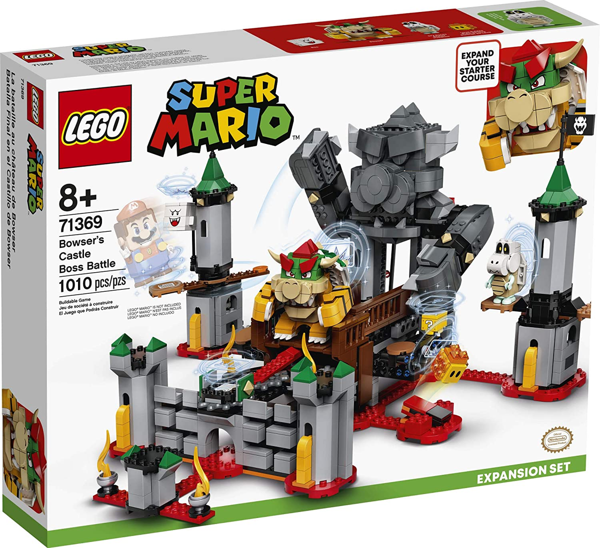 LEGO Super Mario Bowser's Castle Boss Battle Expansion is available now on Amazon: 2
