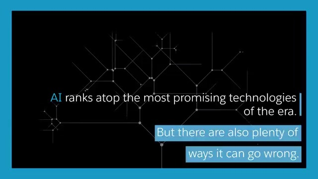 While #AI is one of the most promising technologies of the era, there are plenty of ways it can go wrong. This is how and why @salesforce embeds ethics into its AI. Get the full story: https://t.co/DbpIZzRSBI https://t.co/yOOI21MweY