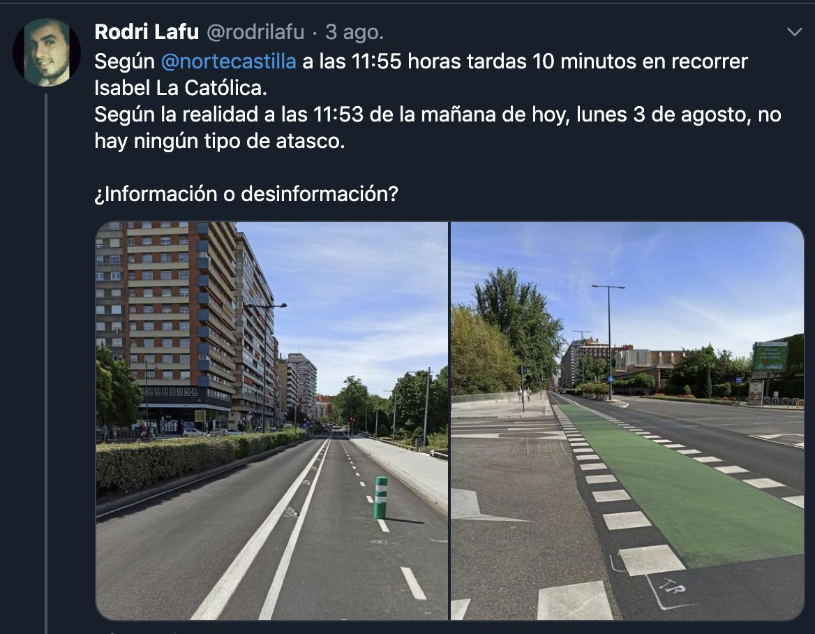 Se podrá criticar (yo no lo hago), pero no sé podrá decir que no hay datos que han llevado a esas decisiones (si lo quieres ver, claro... ) #Valladolid
