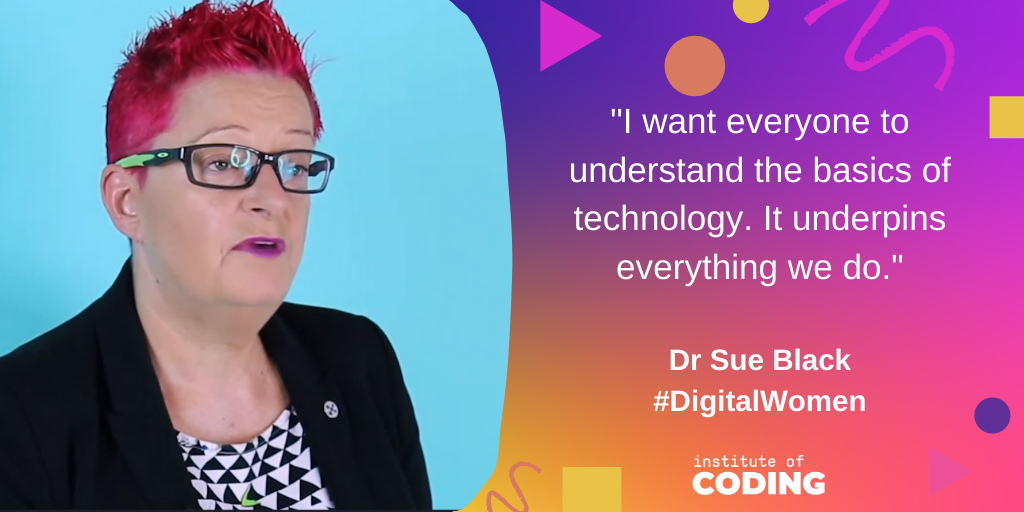 To end a fantastic day of sessions, we have a message from @Dr_Black, tech evangelist, professor at @durham_uni and part of the @TechUpWomen team 👏 #DigitalWomen #WomenInTech
