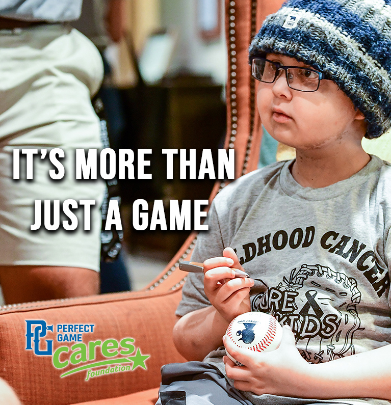 It's far more than just a game! 13u & 14u Select Fest & All-American Classic players will be fundraising for The Toby Keith Foundation's OK Kids Korral.  You can help too! For more information on @PGCaresCharity & to donate visit - https://bit.ly/30vDKEQ  #PGSelectFest #PGAAC pic.twitter.com/ULfWZFkhpF
