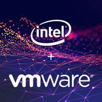 Image for the Tweet beginning: Intel and @VMware are collaborating