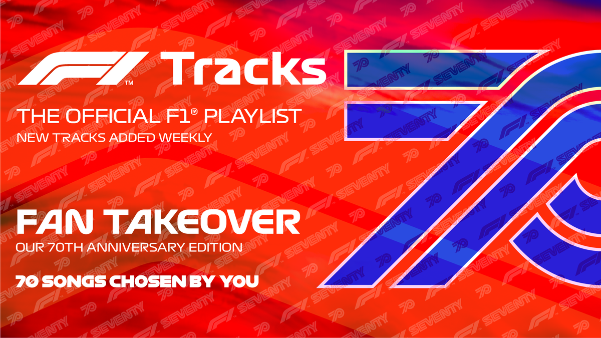 For this weekend's 70th Anniversary Grand Prix at #Silverstone, YOU the fans have taken over #F1Tracks!   Tune in to hear your top 70 picks now on @Spotify, with @ACDC in pole position! >> https://t.co/sdydmW3Wh1   #BritishGP #F170 https://t.co/eJ7PoQf4ea