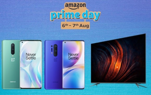 Amazon Prime Day Sale 2020: Deals on OnePlus 8 Series, OnePlus TV and more https://t.co/4F1DCGwpzV https://t.co/MoloXtCZ1L