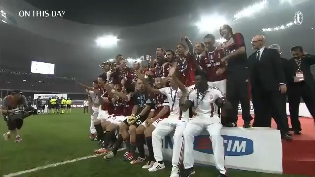 #OnThisDay, in 2011, we conquered Inter in Beijing 🏆  Nove anni fa, la Super-rimonta firmata @KPBofficial e @Ibra_official a Pechino 🏆  #SempreMilan https://t.co/YfoZyyYB8J
