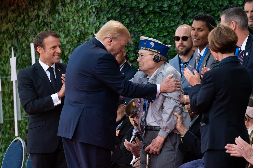Private First Class Russell Pickett was wounded in the first wave that landed on Omaha Beach on June 6, 1944. He was honored by President Trump on the 75th commemoration of D-Day in Normandy. This true American hero passed away on August 2. Rest in peace, Private Pickett. 🇺🇸