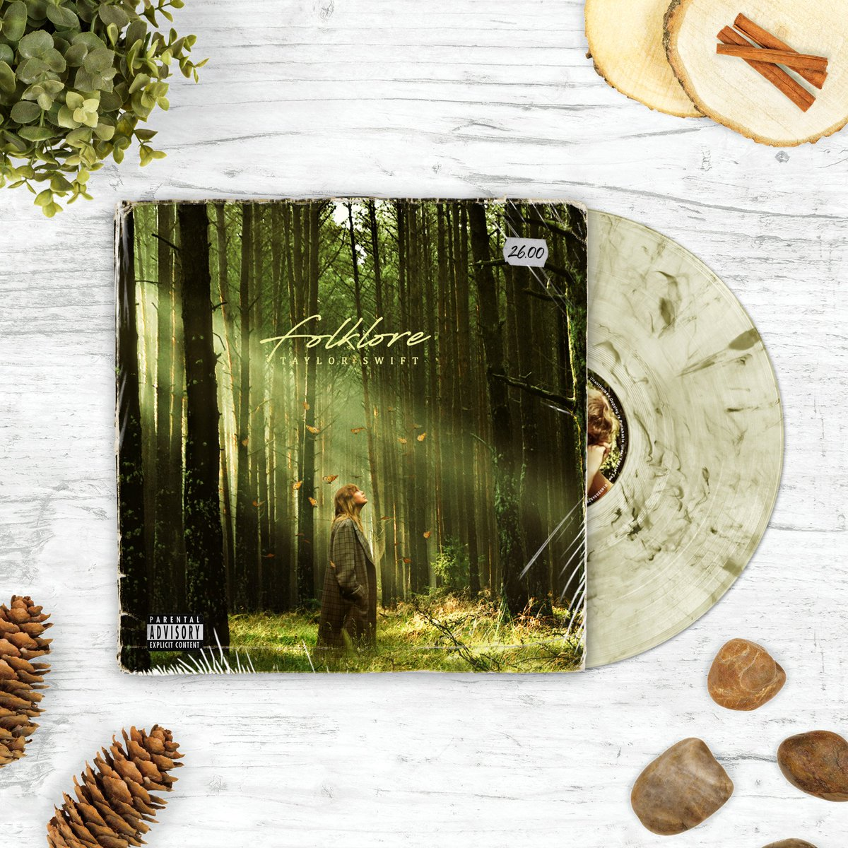 taylor swift's folklore album concept redesign 🌲🍃 https://t.co/P2s7diucsp
