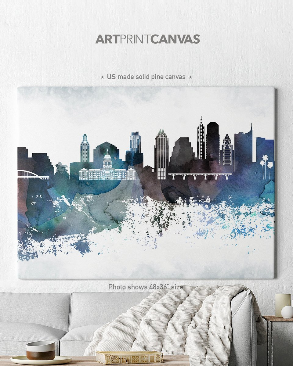 Excited to share the latest addition to my #etsy shop: Austin skyline canvas print, canvas wall art,  https://etsy.me/30wQTO0  #canvasart #canvasprint #austin  #wallartcanvas #austinskyline https://www.etsy.com/shop/ArtPrintCanvas …pic.twitter.com/W4W36h6Wue
