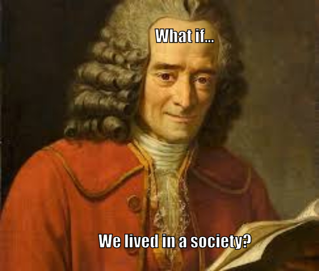 #WhatIfHumankind What if... Voltaire watched the Joker movie? #Society pic.twitter.com/mkoVCxnL9a