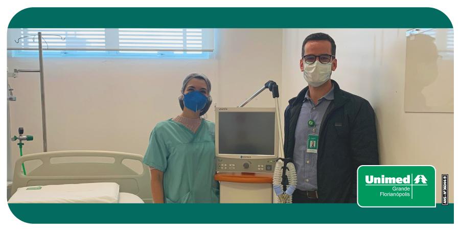 Na última semana, recebemos a doação de um ventilador pulmonar para auxiliar no tratamento e na recuperação de pacientes que apresentam a forma mais grave de COVID-19. https://t.co/ugr56GrOmD