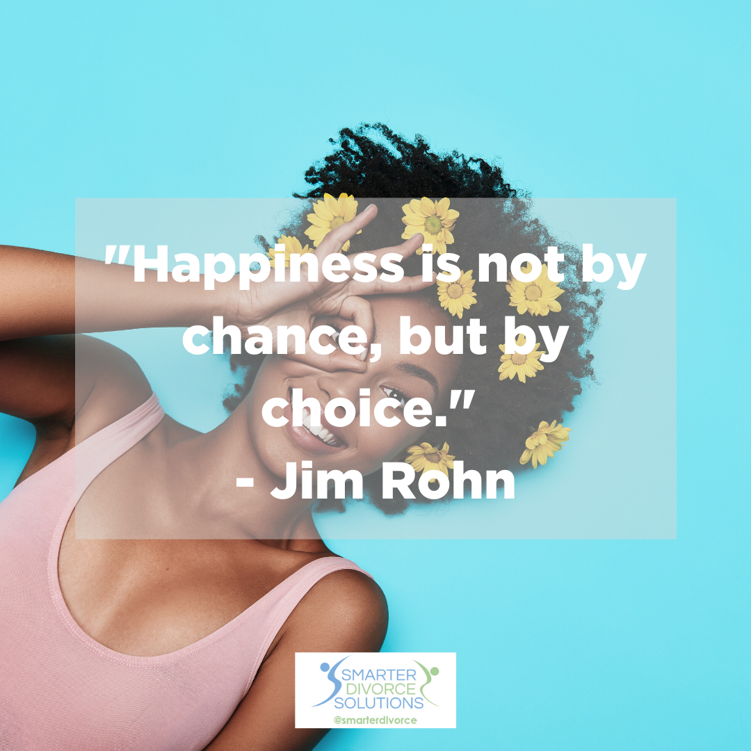 """""""Happiness is not by chance, but by choice."""" - Jim Rohn . #SmarterDivorceSolutions #DivorceDoneDifferently #Divorce #Mediation #CDFA #Inspiration #Quotes https://t.co/A9afmi7EFa"""