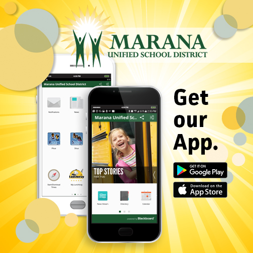 Download the Marana Unified School District mobile App! School news in the palm of your hand - Designed specifically to get you the District and school information you need on the go - all on your smartphone. Download free from the App Store or Google Play today. #maranaschools https://t.co/BXYHPYPPCS