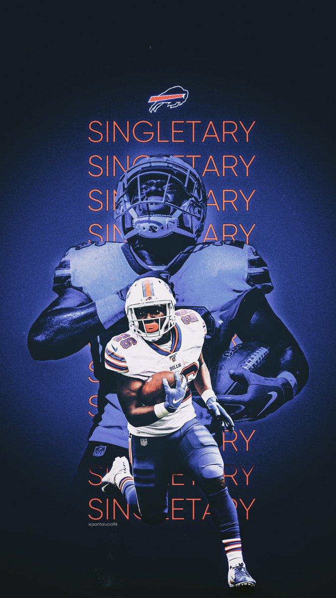 Jordan Santalucia On Twitter Devin Singletary Buffalo Bills Wallpaper Wallpaperwednesday Gobills Billsmafia
