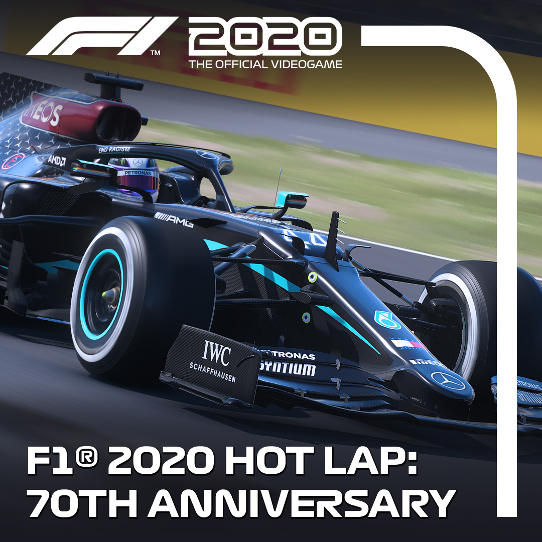 Seventy years later, still Ahead of this weekend's 70th Anniversary Grand Prix, we took @LewisHamilton's newly redesigned @MercedesAMGF1 W11 around @SilverstoneUK on #F12020game - the place where it all began for @F1 🇬🇧 https://t.co/MKSZRGbSt8 https://t.co/g69Dmv2xnG