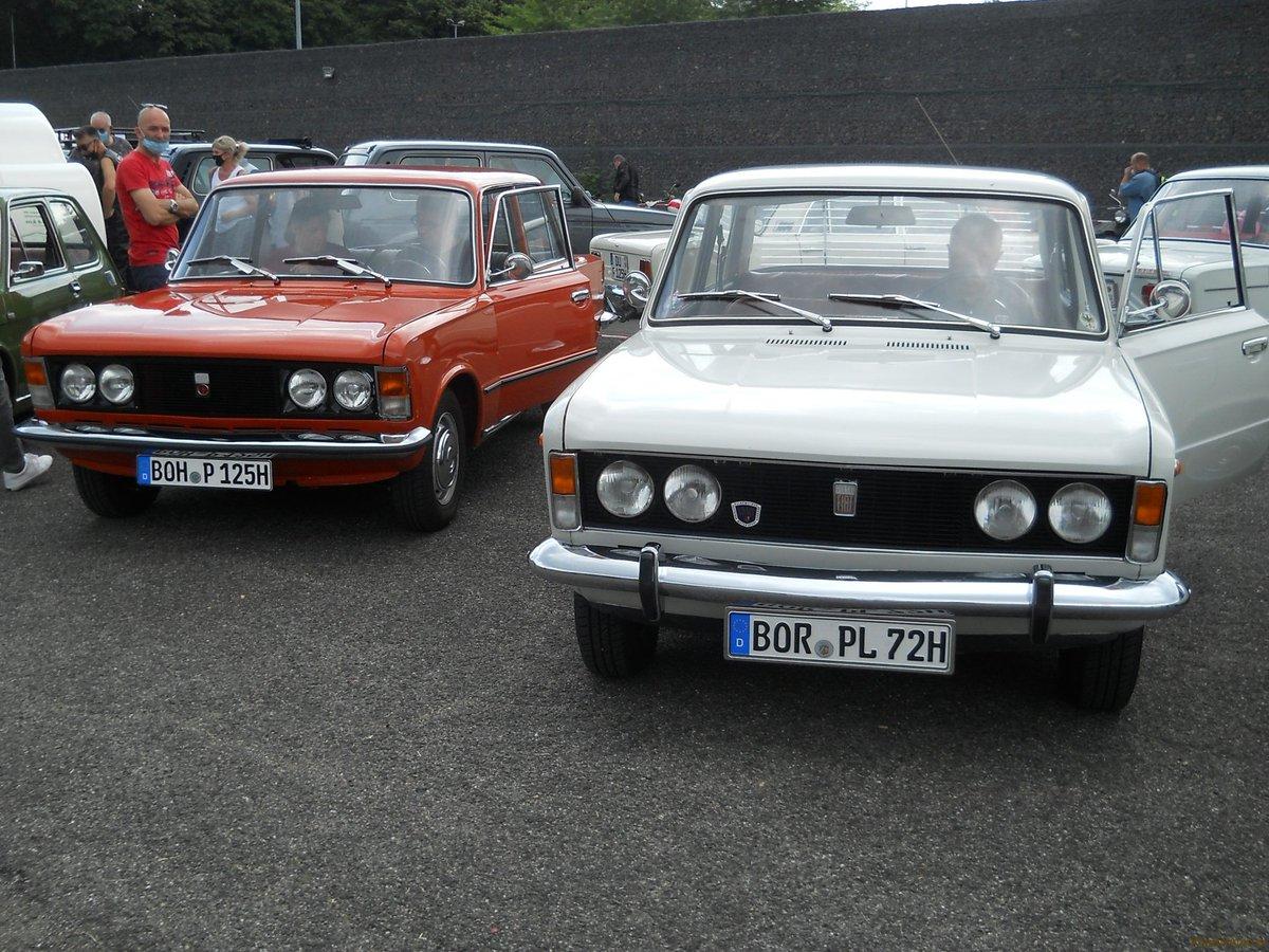 Ciekawe Fiaty były w Krefeld! Szczegóły: klassikauto.pl/fiaty-w-krefel… #fiat #zloty #spoty #impreza #krefeld