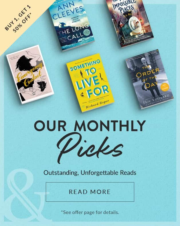 Check out our new #BNMonthlyPicks - there's something for everyone, all buy one, get one #halfoff! Mix and match with any other #bogo book display in store! #monthlypicks #readbooks #buybooks #visitabookstore #shoplocal #sacramento #natomas https://t.co/mnH1zCbUZ0