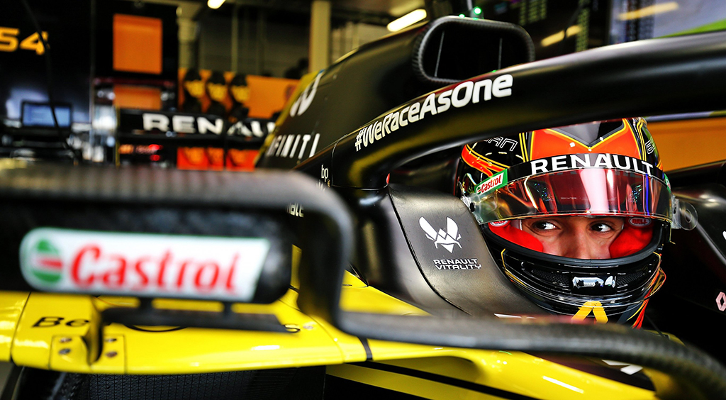 Happy and glorious - Q&A @OconEsteban. It was a thrilling race for Esteban Ocon @SilverstoneUK, as he claimed his best result in #Formula1 since the 2018 #ItalianGP.  @RenaultF1Team #RSspirit #BritishGP https://t.co/LH0EnK9wBL https://t.co/4YzsfnlJ0q