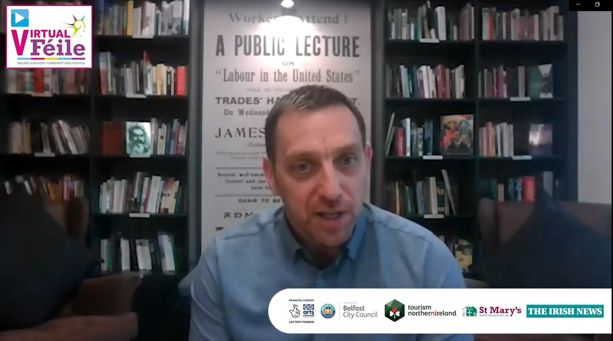 Capitalism After The Coronavirus @pomuirighwelcomes @paulmasonnews to tonight's Virtual Féile discussion with Paddy sitting in the wonderful surroundings of @jamesconnollyVC. Watch Now At: youtu.be/mefhyGEEwLI