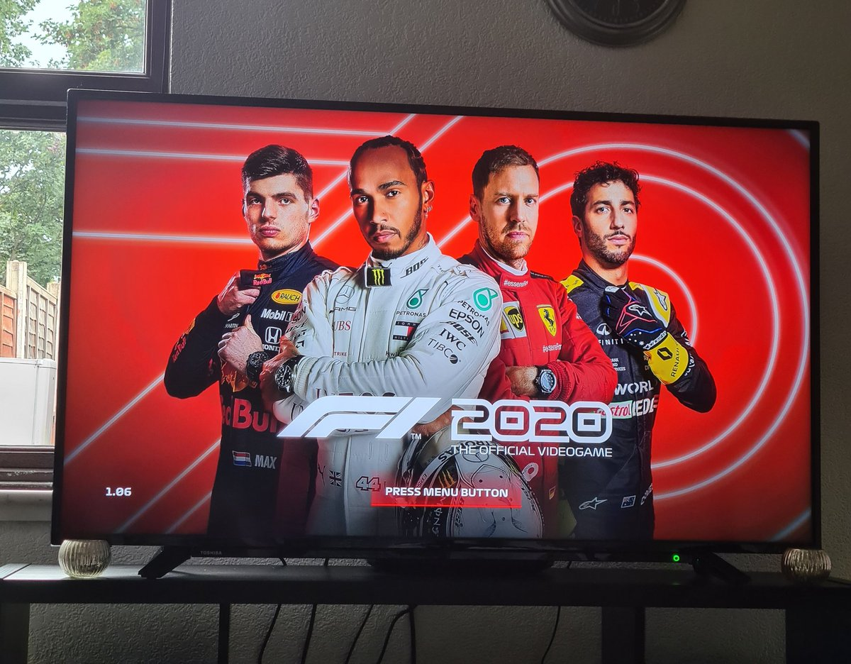 Birthday present from my dad, just a few days early 😁 now what do I call my team 🤔 #F12020 https://t.co/DVXIh0mAUR
