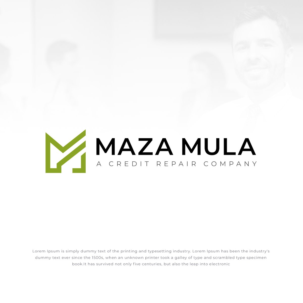 Abu Sayed Hosin On Twitter Logo Design For A Credit Repair Company Called Maza Mula They Provide Personal Credit Repair Business Funding And Business Credit Need Custom Logo Dm Me Logo