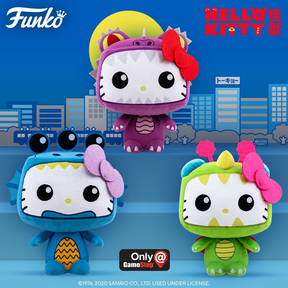 Coming soon: Funko Plush: Hello Kitty Kaiju. Pre-Order today!
