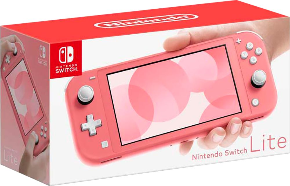 Nintendo Switch Lite Coral available at Best Buy ($199.99) 2