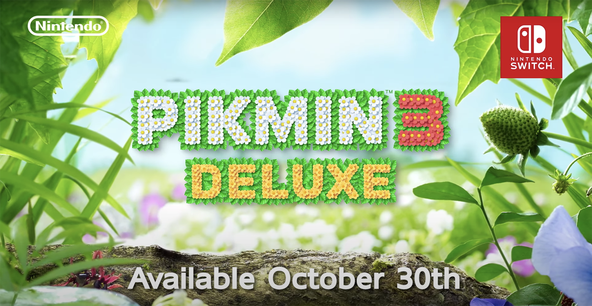 Pikmin 3 Deluxe for #NintendoSwitch is up for pre-order at Best Buy. 2