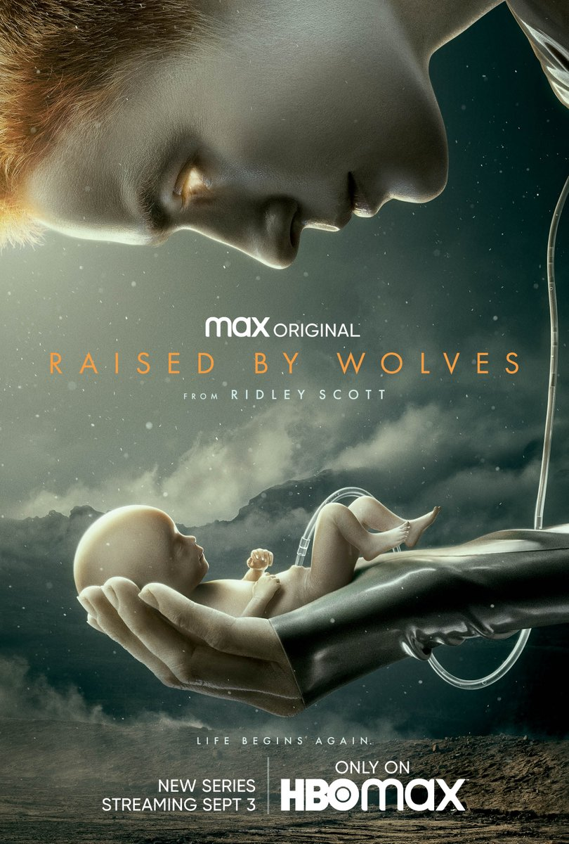 Ridley Scott's 'Raised by Wolves' arrives this September.