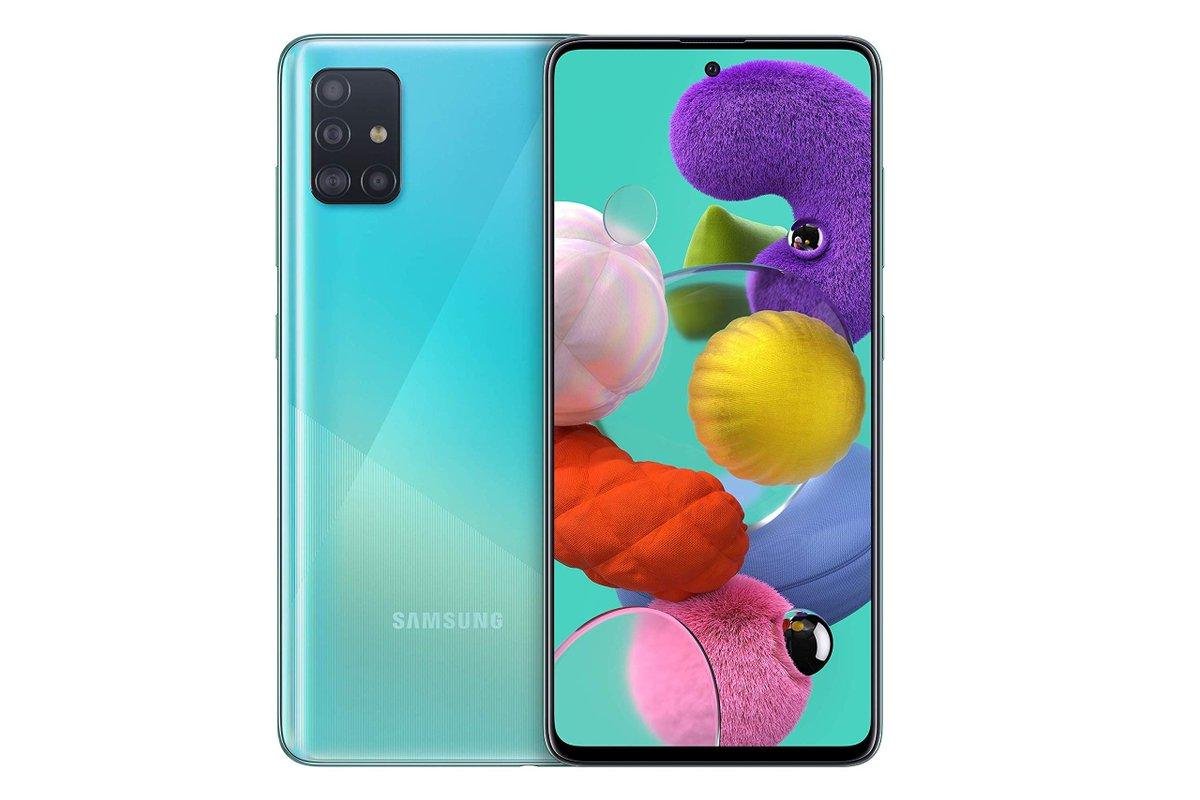 Samsung Galaxy A51 - 4 GB RAM, 128 GB ROM Precio: 278,62 € Envío GRATIS. Ver detalles Ahorras: 90,38 € (24%)  CLIC AQUI https://buff.ly/31k133x  #megaofertas #todosobremovil #FelizMiercoles #Verano2020 #SamsungEvent #ChiringuitoCasillas #ULTIMAHORA #OlaDeCalor #mascarillapic.twitter.com/NXRNBynMfz