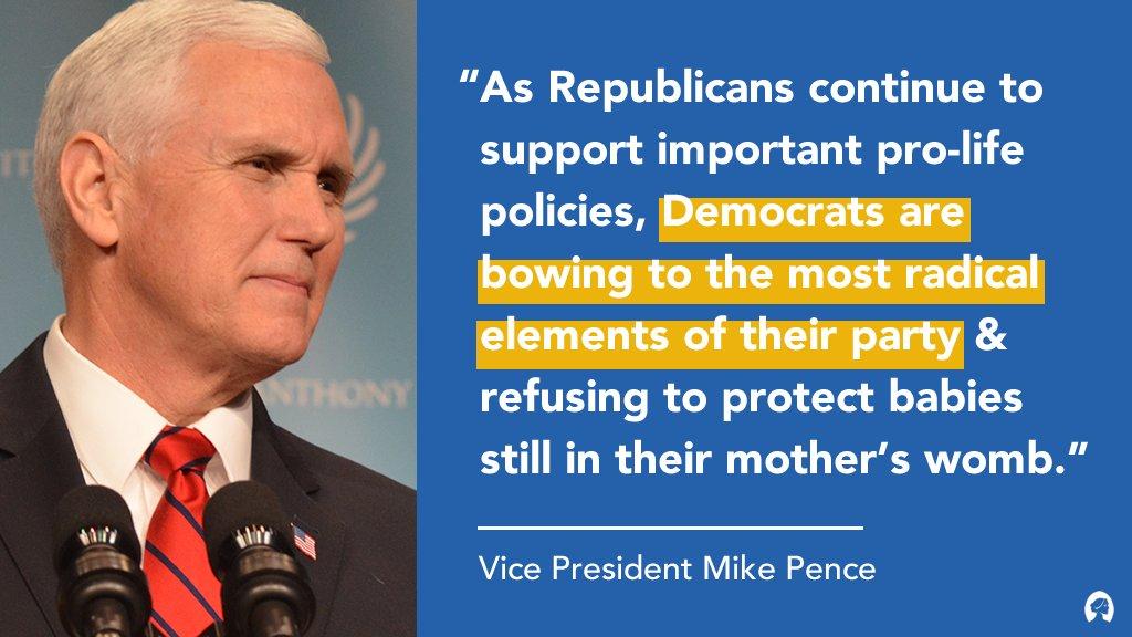 Thank you VP @Mike_Pence!! Life is WINNING #ProLife #MAGA2020