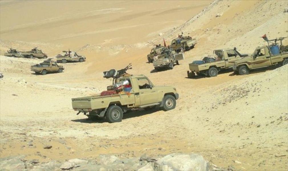 #LNA forces recently left #Brak municipality south #Libya, probably towards #Shwerif, #Baniwalid road. https://t.co/l2S3wIb3lP