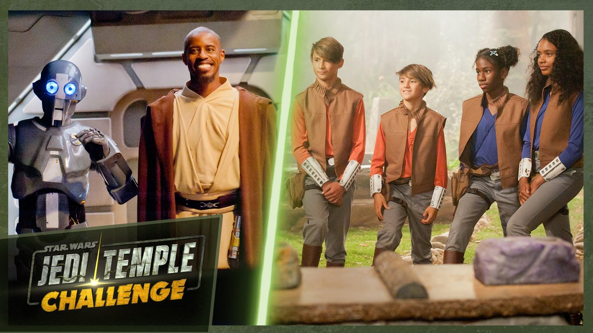 Show your strength. Test your knowledge. Prove your bravery. Young Padawans compete using their skills for the chance to become Jedi Knights in an all-new #JediTempleChallenge! Watch the full first season, now on Star Wars Kids:strw.rs/6004G5998