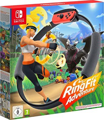 Ring Fit Adventure is up on Amazon now! And it's $10 off! 2