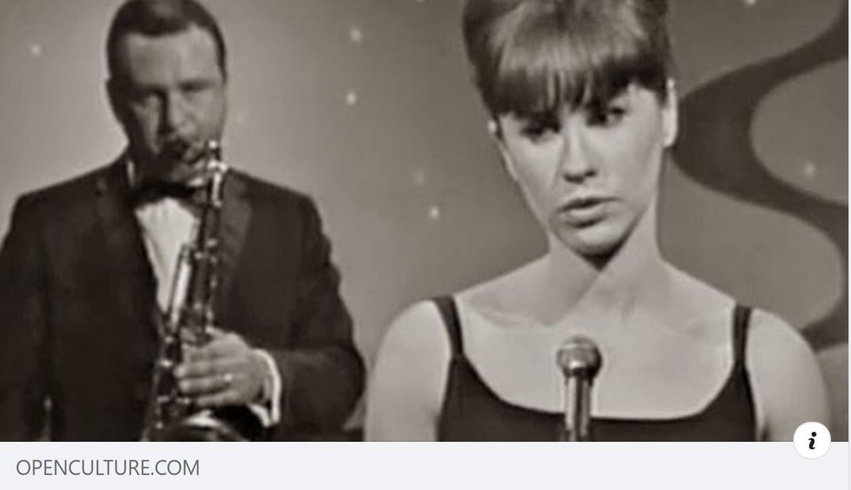 """Why """"The Girl from Ipanema""""' Is a Richer & Weirder Song Than You Ever Realized @openculture https://t.co/ukOsywlhof https://t.co/x1WDA6G1gn"""