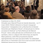 "Image for the Tweet beginning: ""Le Hôtel Swann l'exposition ""L'Adaptation"