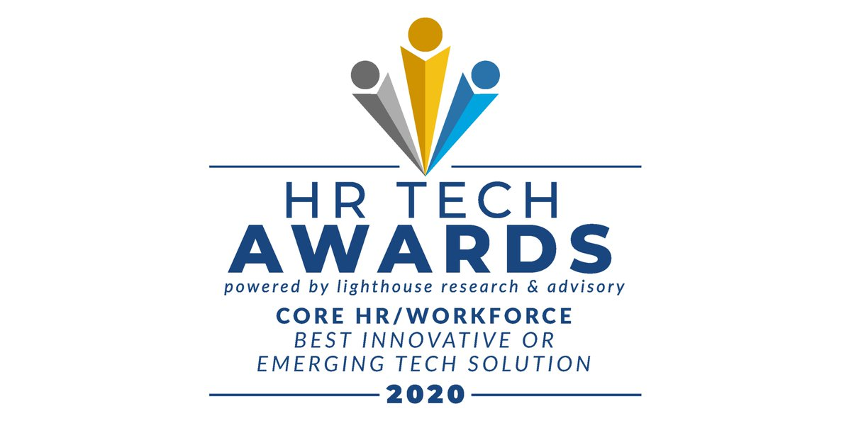 We are honored to be named one of this year's HR Tech Awards winners! We are thrilled to be a part of an innovative community that is dedicated to shaping the future of work. https://t.co/0iuV02nEXX