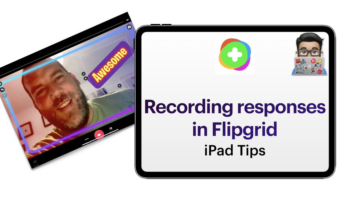 Flipgrid Tips:    Recording Responses in Flipgrid (With updates on the camera)   https://t.co/rpaU5rNluY   @Flipgrid #AppleEduChat @HwbNews #FlipgridLIVE #flipgridforall @EAS_Digital https://t.co/IVSzbY0QGo