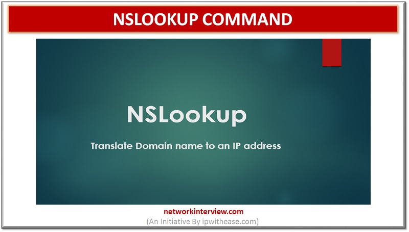 https://networkinterview.com/nslookup-command/ … #command #nslookup #cli #configuration #networkengineer #network #networkengineering #interviewquestions #interviewpreparationpic.twitter.com/OjooCp8AWZ